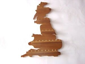 30pc G.B. Wooden Thimble Display Rack ( Pine ) ( huge range - see listing )
