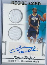 2006-2007 Topps Big Game Picture Perfect Shawne Williams Auto Jersey RC #015/199