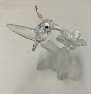 Swarovski crystal Hummingbird Figurine