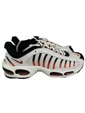 Nike Air Max Shoes Tailwind IV 4 White Black Habanero Red AQ2567104 Men's 8.5