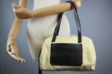 Genuine Cerruti 1881 yellow Monogram Shoulder Bag Tote Hand Bag