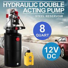 12 Volt 12V Hydraulikpumpe Hydraulikaggregat Anhänger Kipper Pumpe