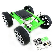 Mini Solar Powered Toy DIY Car Kit Science Experiment with English instructions