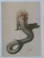 Abel Pann Lithographie Genesis Bible Judaïca Jewish Art juif Israël Palestine 12