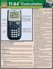 Ti 84 Plus Calculator by Inc. BarCharts (2013, Book, Other)