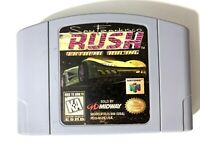 San Francisco Rush Extreme Racing Nintendo 64 N64 Game Tested Working+ Authentic