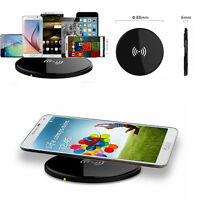 Slim Qi Wireless Charger Charging Pad For iPhone Samsung Galaxy s8 S8 Plus Note8
