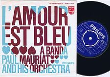 PAUL MAURIAT L'Amour Est Bleu Norwegian 45PS 1968 Love Is Blue Eurovision
