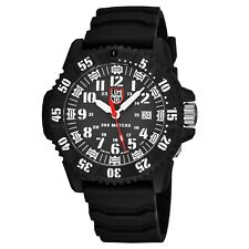 Luminox Men's Master Carbon Seal 3800 Rubber Strap Date Quartz Watch XS.3801
