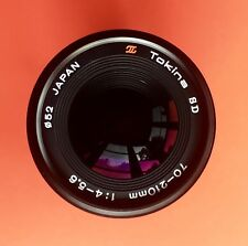 Pentax K mount Tokina SD 70-210mm f/4.5-5.6 Lens - MINT!