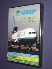 JUST PLANES COCKPIT VIDEO DVD            VASP   Brazil       new & sealed