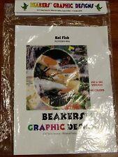 "Beakers Graphic Designs Cross Stitch Pattern #816 ""Koi Fish"" Pattern only"