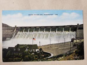Vintage Postcard - Grand Coulee Dam Series Card # 222 - Western Souvenirs