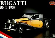 Bugatti 50T 1933 Pocher 1:8 scale /// NEVER OPENED /// factory sealed kit K76