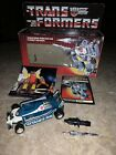 TRANSFORMERS G1 MIRAGE WITH BOX 1984 HASBRO