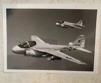 """US Navy Grumman A-6e Intruder's from VA-34 """"Blue Blasters"""" In Flight Ca. 1980's"""