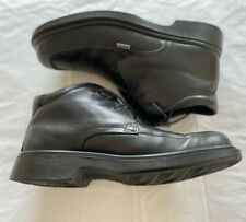 (B16) ECCO black leather Lace Up Boots. Size 42. UK 8.