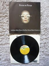 Focus On Focus Vinyl 1979 Bovema Negram Dutch Imp LP Best Of Sylvia Hocus Pocus