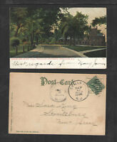 1906 DODGE AND MURRY HALL PRINCETON UNIVERSITY NJ UDB UNDIVIDED BACK POSTCARD
