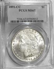 1891 CC Morgan Dollar PCGS MS 65 Carson City GEM N/R