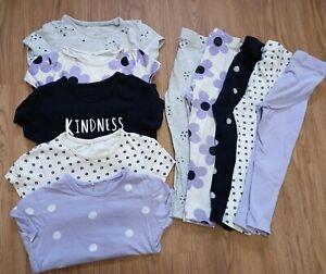 Girls 2-3 Clothes Bundle Tops Bottoms Mix & Match Twins George