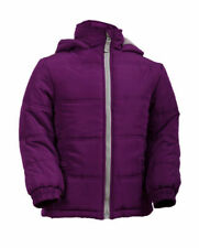 Abbigliamento giacca imbottiti con cappucci per bambine dai 2 ai 16 anni autunno