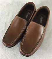 Florsheim Kids Jasper Venetian Tan Leather Dress Loafers 16564 Boy's Youth Sz 6M