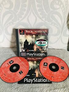 Necronomicon The Dawning Of Darkness PS1 horror PlayStation 1
