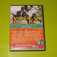 DVD.- AMANECE QUE NO ES POCO - JOSE LUIS CUERDA - DESCATALOGADA
