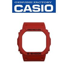 CASIO G-SHOCK Watch Band Bezel Shell DW-5600P-4 RED Rubber Cover
