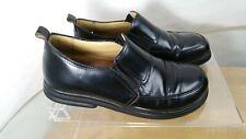 Birkenstock Footprints Black Leather Loafer Slip On Shoe Women EUR 38 US 7.5 8