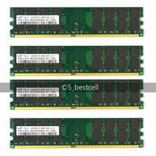 NEW Samsung 16GB 4X4GB DDR2-800MHz PC2-6400 240PIN Only For AMD CPU memory Ram