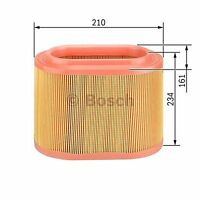 febi bilstein 26089 Air Filter with nonwoven fabric pack of one