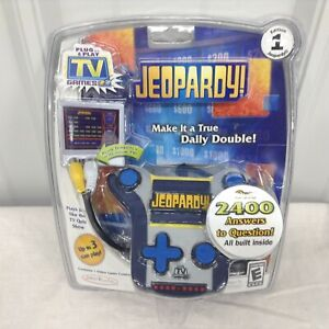 New Sealed Jeopardy Plug and Play Electronic TV Game Rated E Quiz Game Video