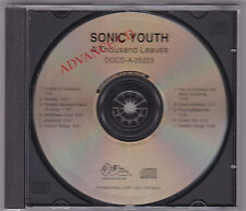 Sonic Youth - A Thousand Leaves CD ADVANCE PROMO DGCD-A-25203 Noise Rock No Wave