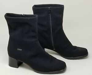 Women's Gore Tex Stretch Booties - 7 1/2 -8  Made in Germany Black