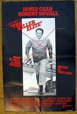 """""""THE KILLER ELITE"""" Who Protects Us From the CIA????  - Movie poster"""