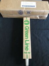 Goose Island Beer Co. Green Line Pale Ale Beer Tap Handle New in Box Free Ship