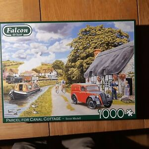 TREVOR MITCHELL:  PARCEL FOR CANAL COTTAGE:1000 PIECE JIGSAW GUARANTEED COMPLETE