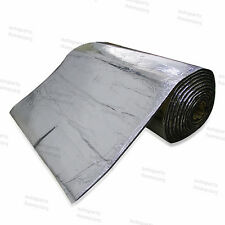 "20cm 8"" Reflective Heat Shield Mat Exhaust Insulation Ceiling Reduce Sound Block"