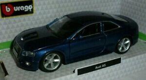 Audi A5 1:32 Blue by Burago