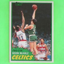 KEVIN McHALE  1981-82  ROOKIE   Topps  #E75   Boston Celtics    KM1