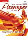 Passages Level 1 Teacher's Edition With Assessment Audio Cd/cd-Rom: By Jack C...