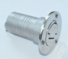 """DECK FILL 1 ½"""" for Fuel Tank 316 grade Stainless Steel Marine Boat"""