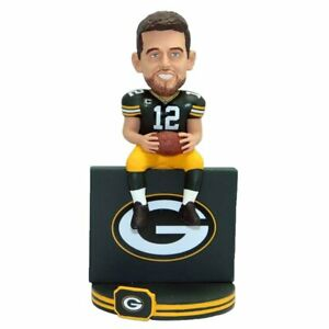 Aaron Rodgers Green Bay Packers Lambeau Leap Bobblehead NFL