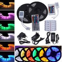 1-30M RGB SMD 5050 LED Strip Leiste Lichtstreifen Flexible Band Lichterkette New
