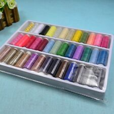 39Pcs Mixed Colors 200 Yard Polyester Sewing Thread Machine Hand Spool Popular