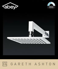Abey Gareth Ashton Fontana Square SHS01 200mm Horizontal Shower with Arm SLEEK