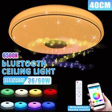 36W 110V Modern LED Music Ceiling Light RGB bluetooth Speaker Down Lamp