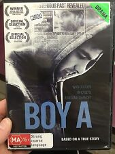 Boy A ex-rental region 4 DVD (2007 Andrew Garfield drama movie) * rare *